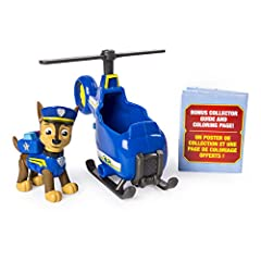 Chase is on the case! Fly to an Ultimate Rescue with Chase's Ultimate Mini Helicopter! Featuring real working wheels, a flip-down rescue hook and a rotating propeller and realistic detailing, this helicopter brings the action-packed world of ...