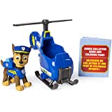 PAW Patrol Ultimate Rescue Chase's Mini Helicopter with Collectible Figure, Ages 3 and Up