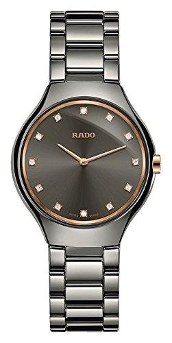 [ラドー]RADO 腕時計 True Thinline(トゥルー シンライン) 薄型ケース R27956722 レディース 【正規輸入品】 B0721NT6Q2