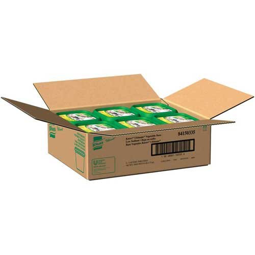 Knorr Ultimate Gluten Free Low Sodium Vegetable Bouillon Base, 1 Pound - 6 per case.
