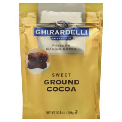 - Ghirardelli Chocolate Baking Cocoa - Sweet Ground Cocoa, 10.5 Oz (Pack of 3)