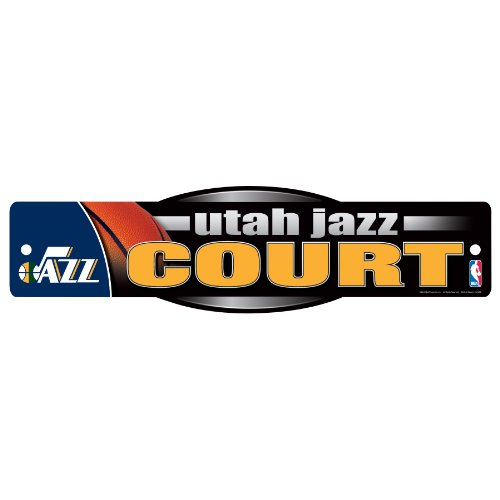 WinCraft NBA Utah Jazz Sign, 4.5 x 17-Inch by WinCraft