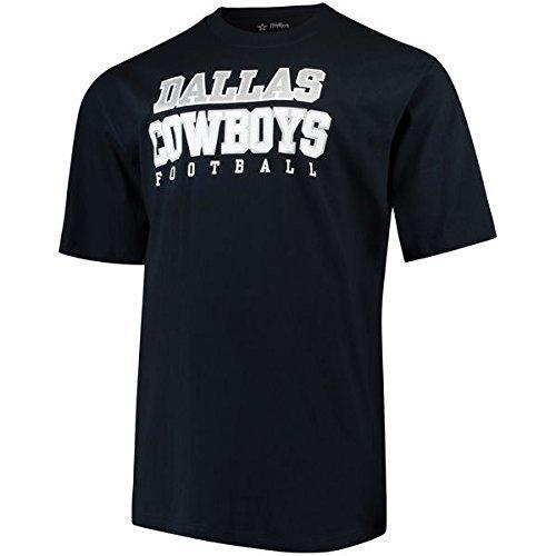 Amazon.com   Dallas Cowboys Men s Big   Tall Team Practice T-Shirt Navy    Sports   Outdoors bcec86654