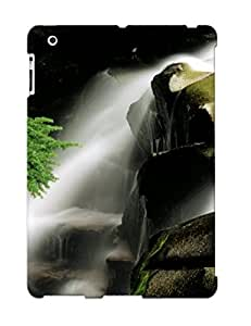 Awesome Case Cover/ipad 2/3/4 Defender Case Cover(paradise River Waterfall, Washington )
