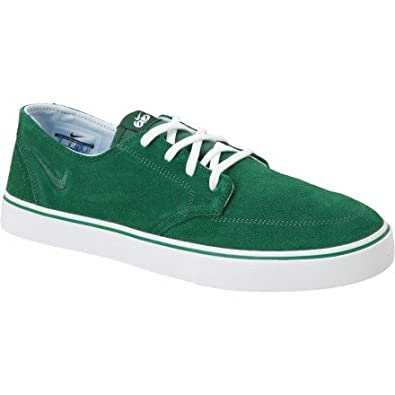best website ad5a8 2b554 Nike 6.0 Braata LR Green Suede White Mens 2012 New Casual Shoes 477650-331