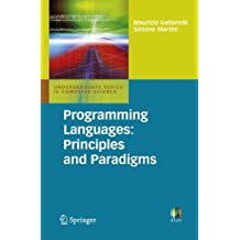 Programming Languages: Principles and Paradigms (Undergraduate Topics in Computer Science)