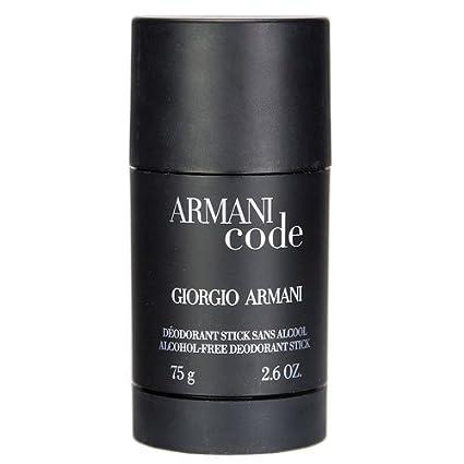 Homme it Code Armani 75 Ml Uomo Deodorante Amazon Ml Stick 5fvvzpnq