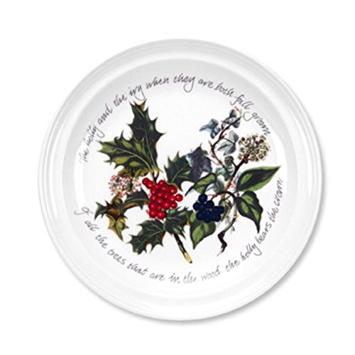 Portmeirion Holly and Ivy Dinner Plates, Set of -