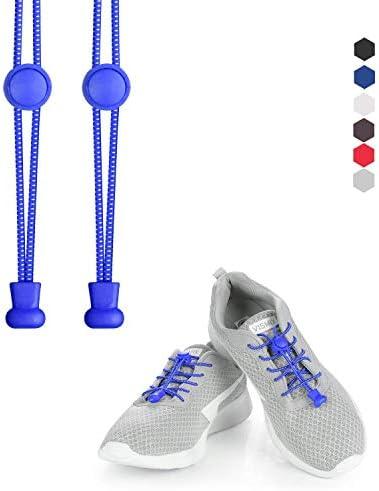 結ばない靴ひも 靴ひも オリジナル 怠け者靴ひも 大人 子供にも簡単に靴ひもを結ぶ アウトドア 運動 スポーツ靴ひも きれい 使いやすい靴紐 伸縮性 弾力ある 2ペア