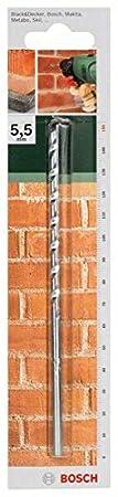 Bosch 2609255431 Foret /à mat/ériaux ISO 5468 Diam/ètre 7 mm Longueur 100 mm Diam/ètre queue 5,2 mm