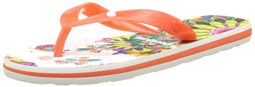 Desigual Shoes_flip Flop 10 - Chanclas Mujer Naranja (3074)