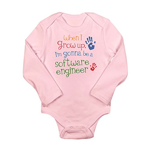 Cafepress   Future Software Engineer Long Sleeve Infant Bodysu   Cute Long Sleeve Infant Bodysuit Baby Romper