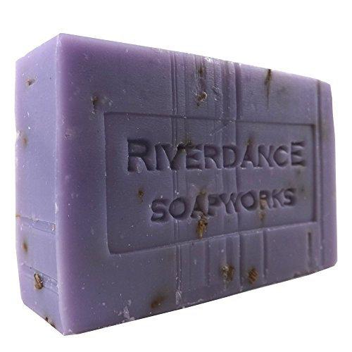 Natural Bar Soap Lavender Scented - Local Handcrafted with Essential Oils - - Bar Soapworks Soap Scented