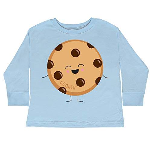 inktastic - Cookie Costume Toddler Long Sleeve T-Shirt 2T Light Blue 31d11 ()