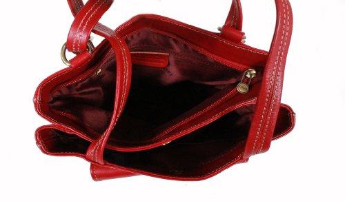 K à shopping gras Vachette Sac 322015 dos de Sac Rouge Katana cuir txwaq