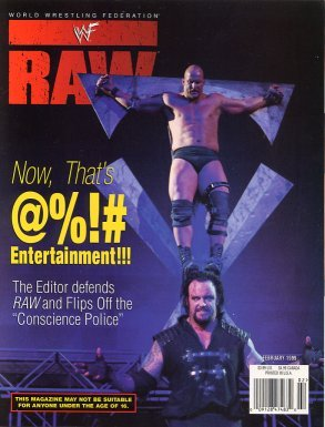 WWF Raw Magazine February 1999