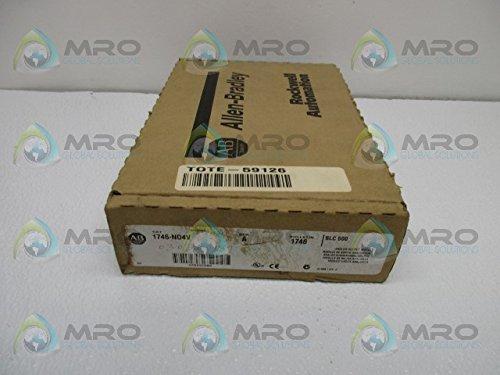 ALLEN BRADLEY SLC 500 1746-N04V SER. A ANALOG OUTPUT MODULE NEW IN BOX