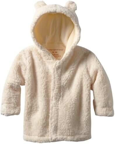 Magnificent Baby Magnetic Smart Little Bear Fleece Hooded Jacket