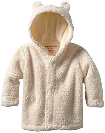 Magnificent Baby Unisex-Baby Infant Hooded Bear Jacket, Cream, 6-12 Months