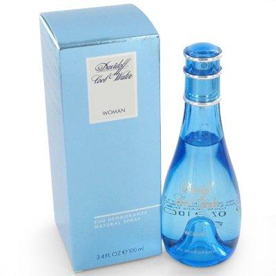(COOL WATER by Davidoff for Women Deodorant Spray 3.3 oz)