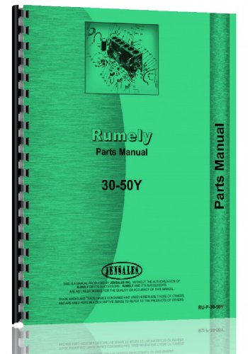 Rumely 30-50-Y Oil Pull Tractor Parts ()