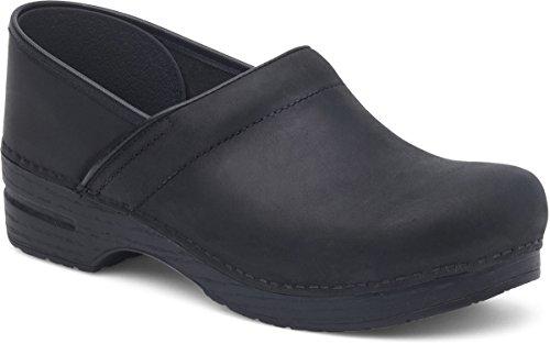 (Dansko Women's Professional Mule,Black Oiled,38 EU/7.5-8 M US)