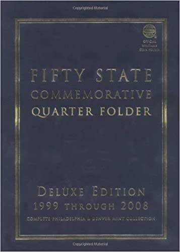 NEW STATE SERIES QUARTERS STORAGE FOLDER ONLY  1999-2008