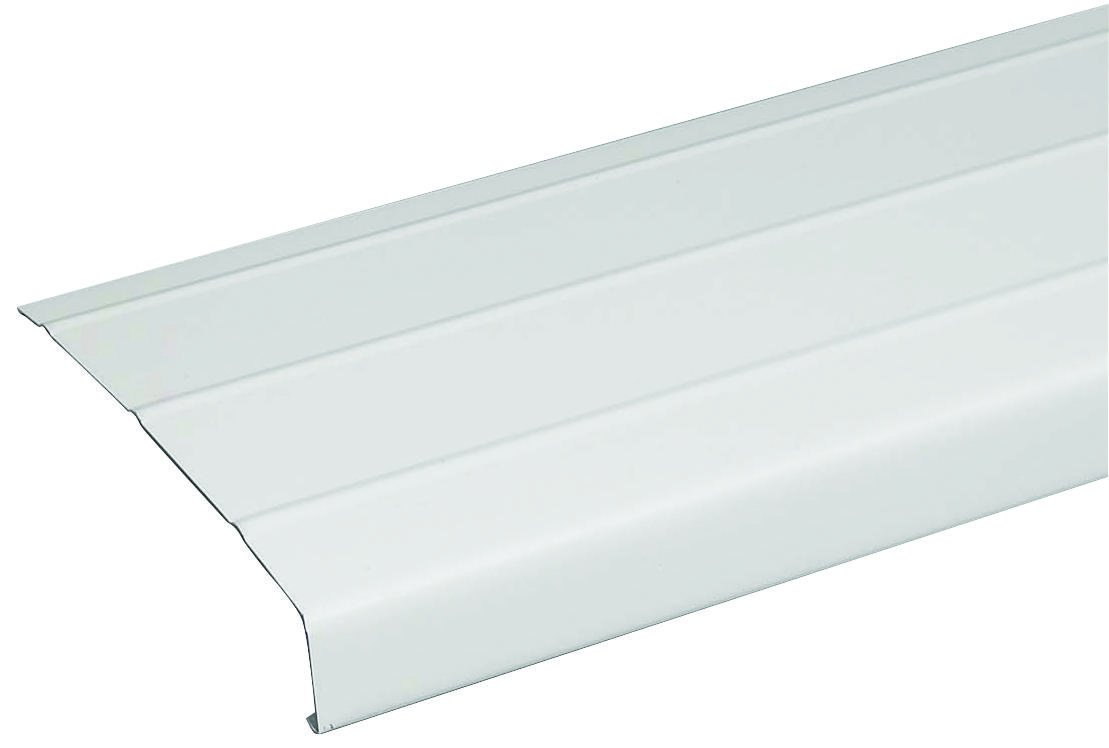 Amerimax 77103 Fascia Trim, 6'' X 12', Aluminum (Pack Of 12)