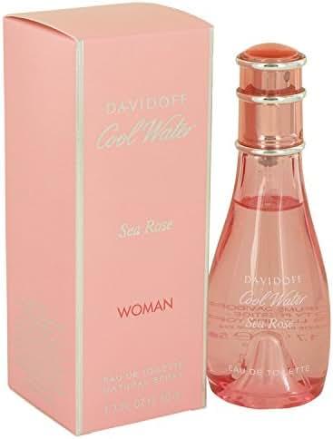 Davïdöff Coöl Wäter Séa Rosé Pérfume for Women 1.7 oz Eau De Toilette Spray +Free Fragrance-sample