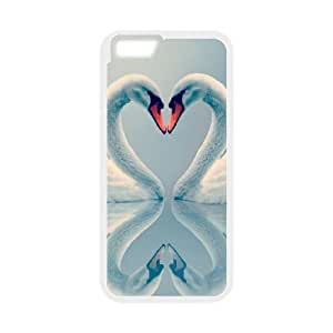 "Unique Design -ZE-MIN PHONE CASE- For Apple Iphone 6,4.7"" screen Cases -Swan and Ballet-CUSTOM-DESIGH 13"