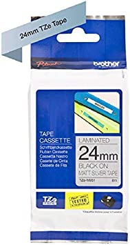 Orginal Brother P-touch tape TZ-M931 schwarz auf matt silber 12mm