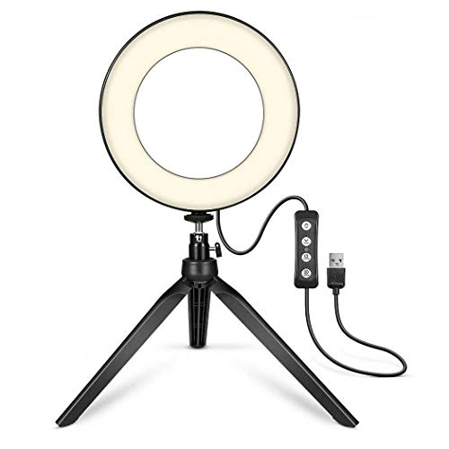Diaper Broadcast Live Photography Fill Light LED Camera Phone Flash Dimmable Light On-Camera Video Lights from Diaper