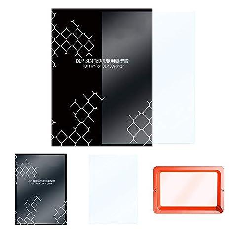 Amazon.com: FEP Film 5 Pcs for LCD 140x200mm Better Light ...