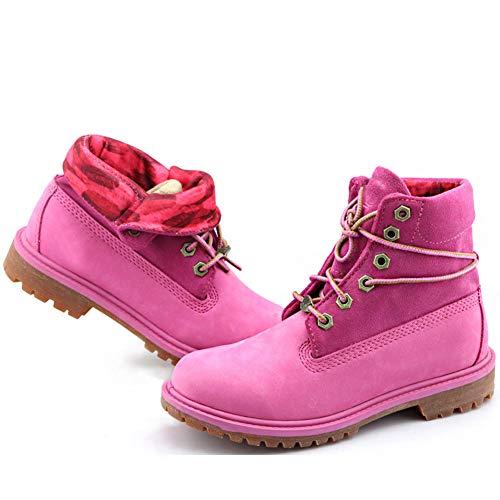 High Rise Wanderschuhe amp;RIGHT Revers Wasserdicht LEFT Pink Trekking Frauen Schuhe pxqEF4pZ