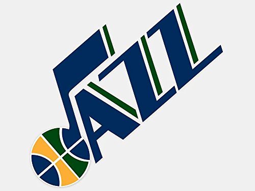 "NBA Utah Jazz Perfect Cut Color Decal, 4"" x 4"", multi, Multi, 4"" x 4"""