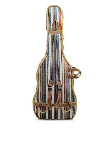 The House of Tara - Multicolour Handloom Fabric Guitar Bag 4