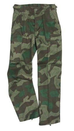 US Ranger BDU Trousers - Splinter Camo (XXL (Us Bdu Trousers)