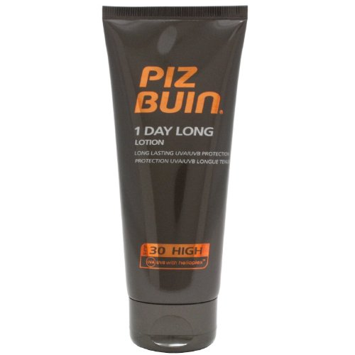 2 x Piz Buin 1 Day Long Long Lasting Sun Lotion SPF30 High 1
