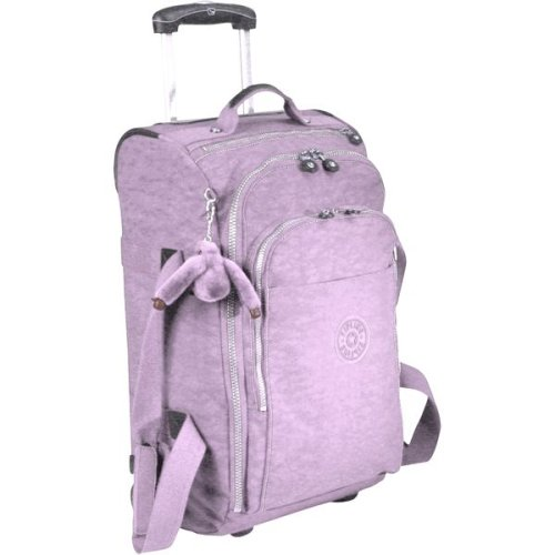 Exceptional Kipling Hudson M   Medium Wheeled Duffel/Cabin Size   Special Offer  (Lilac): Amazon.co.uk: Clothing
