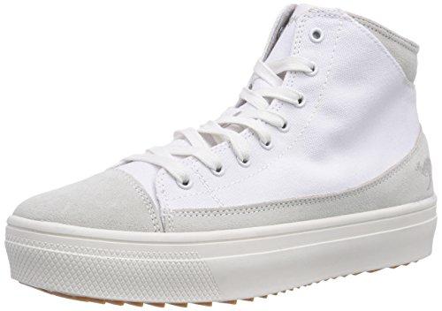 Plateau White K Baskets Weiß mid Blanc 5072 000 KangaROOS hautes femme qTxE7p
