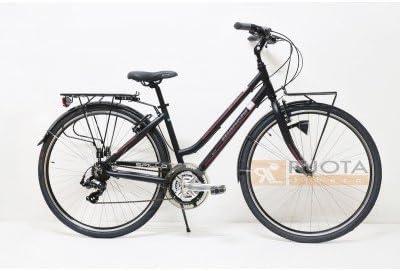 Bianchi &apos City Bike 28 tacón Rubí 21 V Mujer Negro/linearossa ...