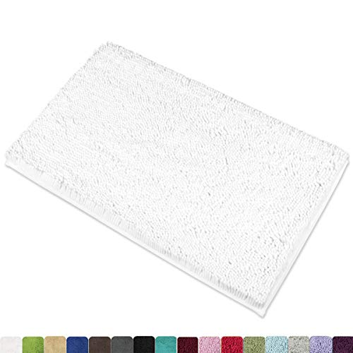 MAYSHINE Chenille Bath Mat for Bathroom Rugs 32