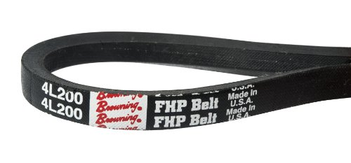 Browning 4L520 FHP V-Belts, L Belt Section, 51 Pitch