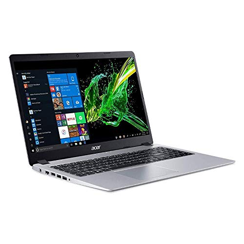 2020 Acer Aspire 5 15.6 Inch FHD 1080P Slim Laptop| AMD Ryzen 3 3200U up to 3.5 GHz| 4GB RAM| 128GB SSD| Backlit KB| WiFi| Bluetooth| HDMI| Windows 10 + NexiGo Wireless Mouse Bundle