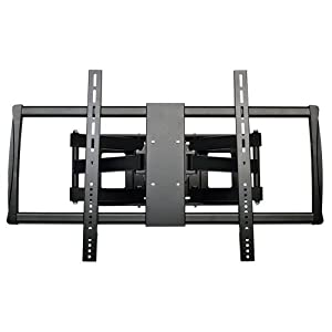 "Tripp Lite Swivel/Tilt Wall Mount with Arm for 60"" to 100"" TVs, Monitors, Flat Screens, LED, Plasma or LCD Displays (DWM60100XX)"