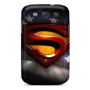 Tough Galaxy CFQ1632wxnY Case Cover/ Case For Galaxy S3(superman)