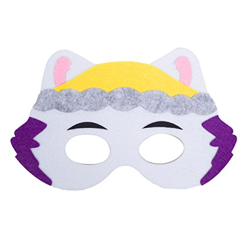 EkarLam Children's Halloween PAW PATROL Mask For Masquare Cosplay Party (Everest Halloween Costume)