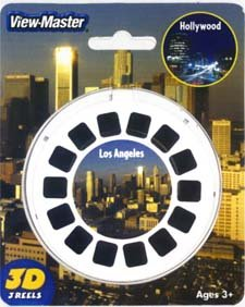 View-Master 3D 3-Reel Card Los Angeles & Hollywood California by View Master (Image #1)