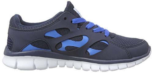 KappaFOX Blue Synthetic Unisex Zapatillas Footwear Light Blau 6760 Adulto Unisex Navy Azul Mesh prnOpqx