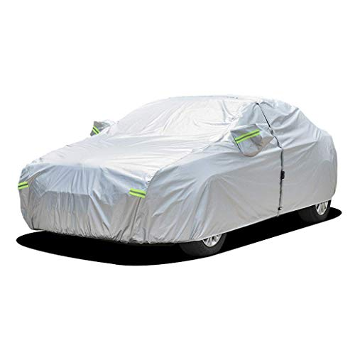 Color : Black-Plus cotton Car cover Compatible With Kia Niro//Tarps To Cover The Sun And Rain//Car Cover//Covers For Cars//Full Exterior//Hail Car Cover//Hail Protector